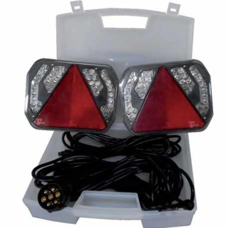 Kit signalisation arrière LED, câble 12m