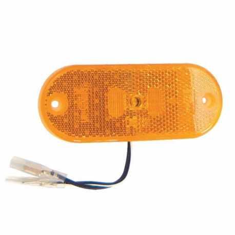 Feu de position Orange LED 110x45