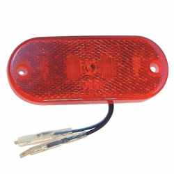 Feu de position Rouge LED 110x45
