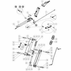 Kit frein à main Knott KHD15