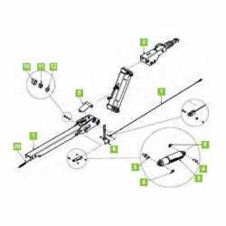 Câble de rupture Knott KHD15/25/35