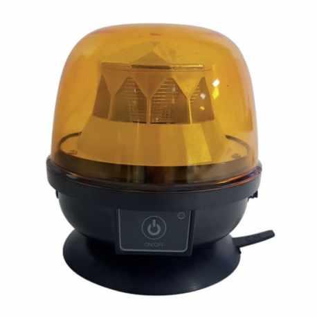 Gyrophare LED magnétique 12V sans fil