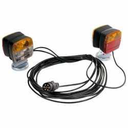 Kit éclairage avant/arrière avec câble 7,50m, entre feux 4m