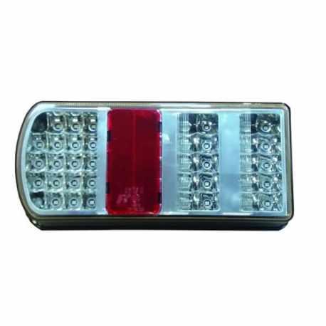 Feu arrière LED 260 x 105 x 53 mm Gauche