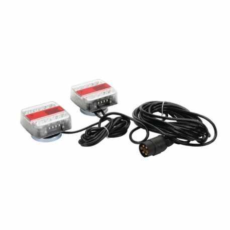 Kit éclairage magnétique LED, 7,5m de câble